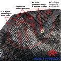 8' x 20' - MP 50% shade cloth, shade fabric, sun shade, shade sail (black color) (MN-MS50-B0820) - Thumbnail 0